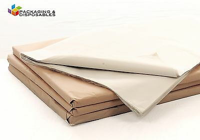 2000 SHEETS OF WHITE ACID FREE TISSUE PAPER 450 x 700