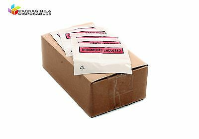 1000 Documents Enclosed Envelopes Wallets - A5 Size