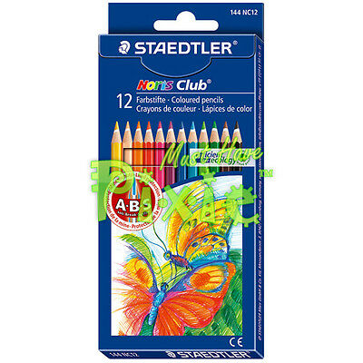 STAEDTLER 144 NC12 Noris Club coloured pencils - 12 COLOR SET