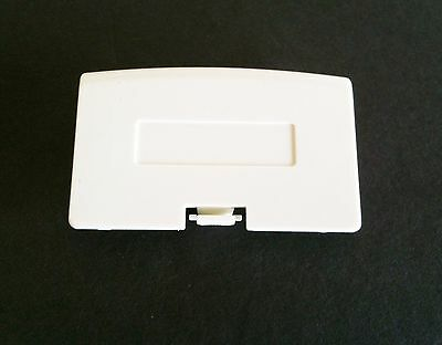New White Game Boy Advance Replacement Battery Cover Lid Door For System Console