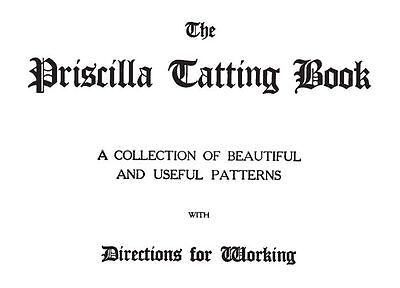 Vintage Tatting Pattern & Direction Book 2-Vol Set ~ CD