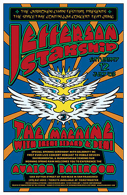 Jefferson Starship * Avalon Ballroom / SF 2003 - Loren - Grimshaw - Firehouse