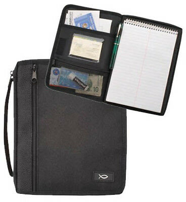 Bible Pack Organizer Bible Cover - Black - Large