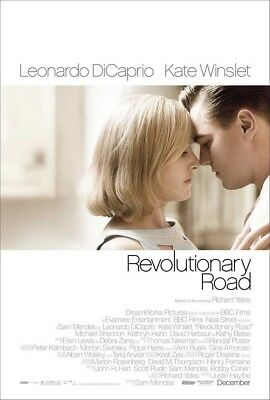 REVOLUTIONARY ROAD MOVIE POSTER 1 Sided ORIGINAL ROLLED 27x40