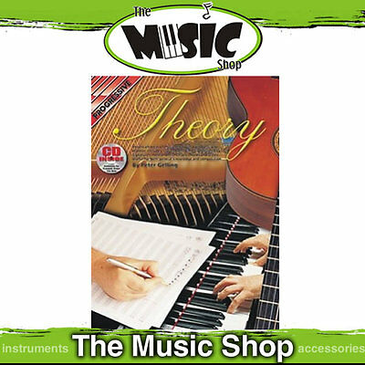 Progressive Music Theory Tuition Book with CD by Peter Gelling - Learn Theory