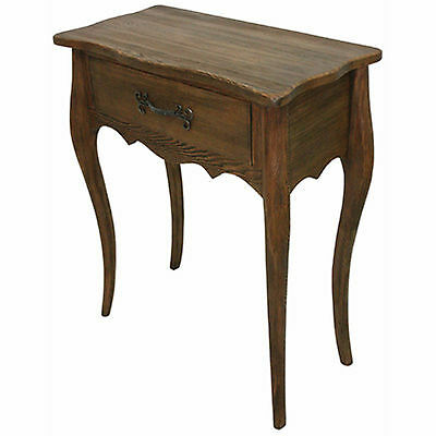 Large Table 1 Drawer Hemlock Wood Side Telephone Occasional Buy 2 Save10% New