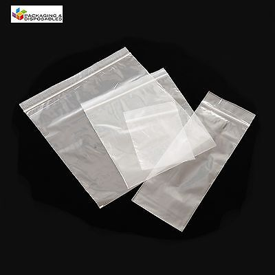 5000 PLASTIC RESEALABLE GRIP SEAL BAGS 3 x 7.5