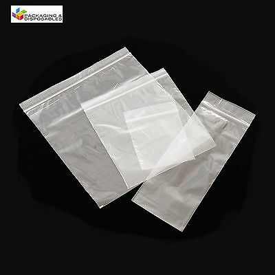 1000 PLASTIC RESEALABLE GRIP SEAL BAGS 10 x 14