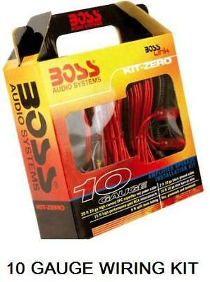 Boss Audio 10 Gauge Car Power Amplifier Wiring Kit - Same Day Despatch