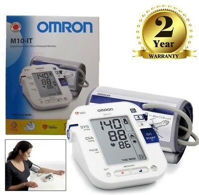Omron M10-IT Digital Upper Arm Blood Pressure Monitor with PC Link Comfort Cuff