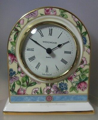 "Waterford Wedgwood  ""sarah Dome Shape Clock"" 0480100  Mint In Box"