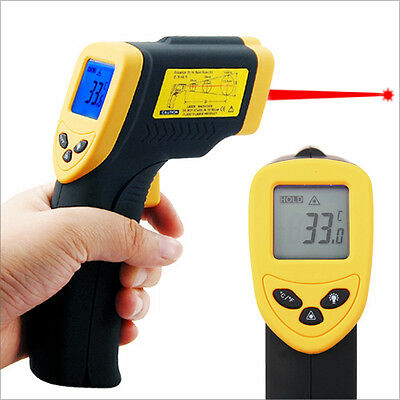 Non-Contact Infrared IR Laser Point Digital Thermometer LCD Gun Infa Red Pointer