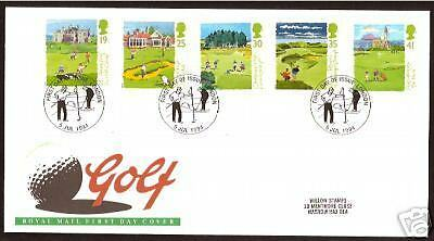 Golf Fdc Gb 250Th Anniversary London Postmark