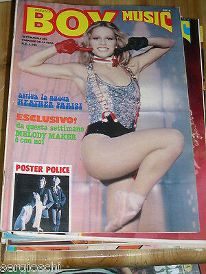CORRIER BOY MUSIC  n°  4 - HEATHER PARISI -  I QUEEN -  CON POSTER