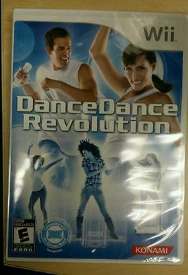 DDR DANCE DANCE REVOLUTION (GAME ONLY) - Nintendo Wii - Works with Wii Fit -NEW!