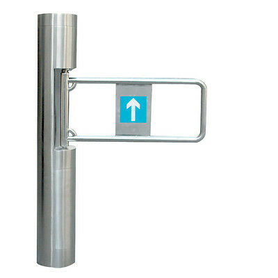Access Control Semi-Auto Cylinder Swing Gate