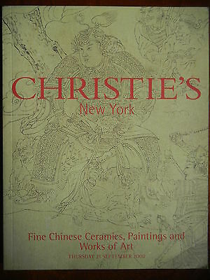 Christie's Fine Chinese Ceramics Paintings and Works of Art 21  Sepember 2000