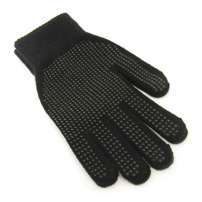 Mens / Ladies Black Warm Winter Magic Gripper Gloves Driving Gloves Horse Riding