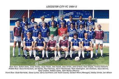 Leicester City Team of 1984-85 Photo