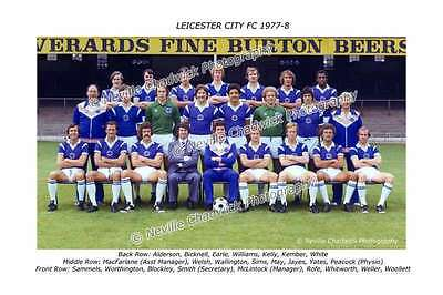 Leicester City Team of 1977-78 Photo