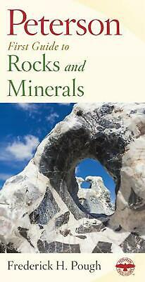 Peterson First Guide to Rocks and Minerals by Frederick H. Pough (English) Paper