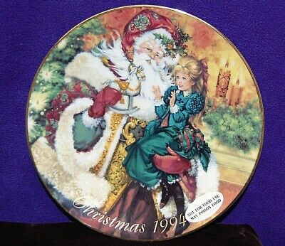 """AVON 1994 """"The Wonder of Christmas"""" Collectors Plate  S2231"""