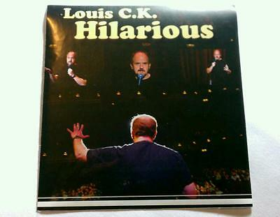LOUIS CK HILARIOUS LOUIE COMEDY CENTRAL COMEDIAN STAGE Case Mike Rare Sticker