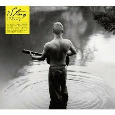 Sting - The Best Of 25 Years 2 Cd Neu