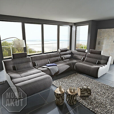Au enecke elements wohnlandschaft sofa bigsofa megasofa in for Wohnlandschaft elemente