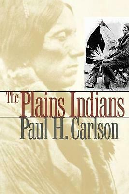 The Plains Indians by Paul H. Carlson (English) Paperback Book Free Shipping!
