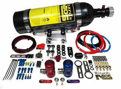 Wizards of NOS StreetBlaster 150i-4  Direct Port Car Nitrous Oxide System