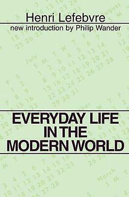 Everyday Life in the Modern World by Henri Lefebvre (English) Paperback Book Fre