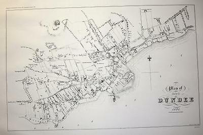 Map Of Dundee 1821