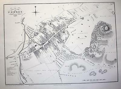 Map Of Forres 1823