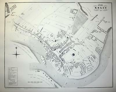 Map Of Kelso 1823