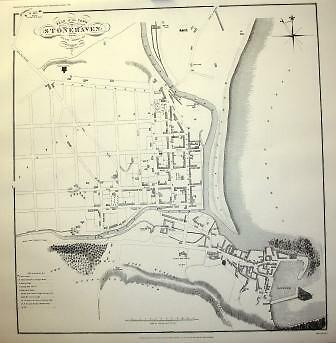 Map Of Stonehaven 1823