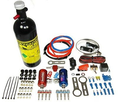 Wizards of NOS StreetBlaster SB75 Motorcycle Nitrous Oxide System WoN Bike Kit