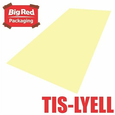 480 x sheets Light Yellow Colour Tissue Paper Ream Gift Wrap Bright Coloured