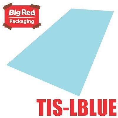 480 x sheets Light Blue Colour Tissue Paper Ream Gift Wrapping Bright Coloured