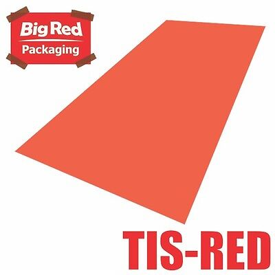 480 x sheets Red Colour Tissue Paper Ream Gift Wrap Wrapping Bright Coloured