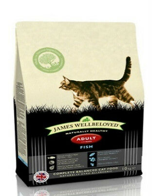 JAMES WELLBELOVED DRY CAT FOOD ADULT FISH & RICE 300g