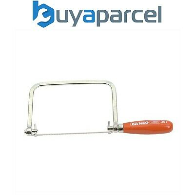 Bahco 301 BAH301 Coping Saw 14 tpi 165mm 6 1/2 Inch Saw Great For Cutting Curves