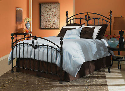 Coronado Fashion Bed, Tarnished Copper Finish