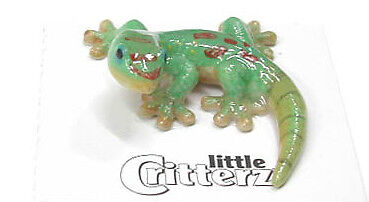 little Critterz Miniature- Day Gecko -LC317  (Buy 5 get 6th free!)