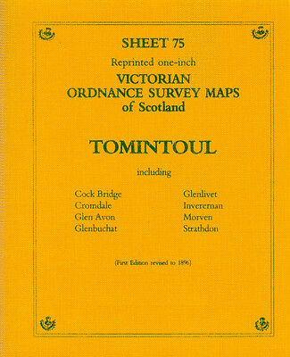 Map Of Tomintoul Victorian Ordnance Survey
