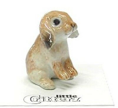 little Critterz Miniature- Lop Eared Rabbit - LC706( Buy 5 get 6th free!)