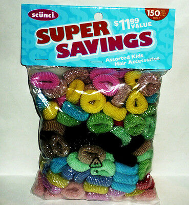 150 Assorted Color Scuncis  Super Savings New In Factory Sealed Package