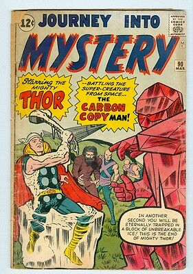 Journey Into Mystery #90 March 1963 G Carbon Copy Man