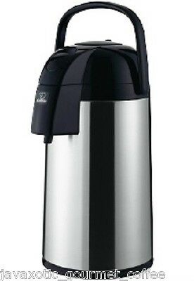 Zojirushi Thermal Airpot Coffee Tea Beverage Dispenser 3 Liter 101oz, AAWE-30SB