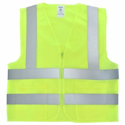 NEIKO High Visibility Neon Green  Safety Vest /Meets ANSI/ISEA Standars/Size 3XL